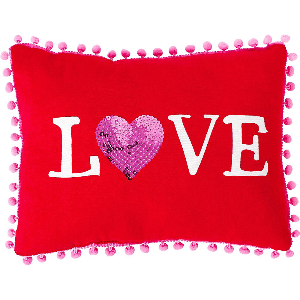 Love Pom-Pom Pillow Image #1