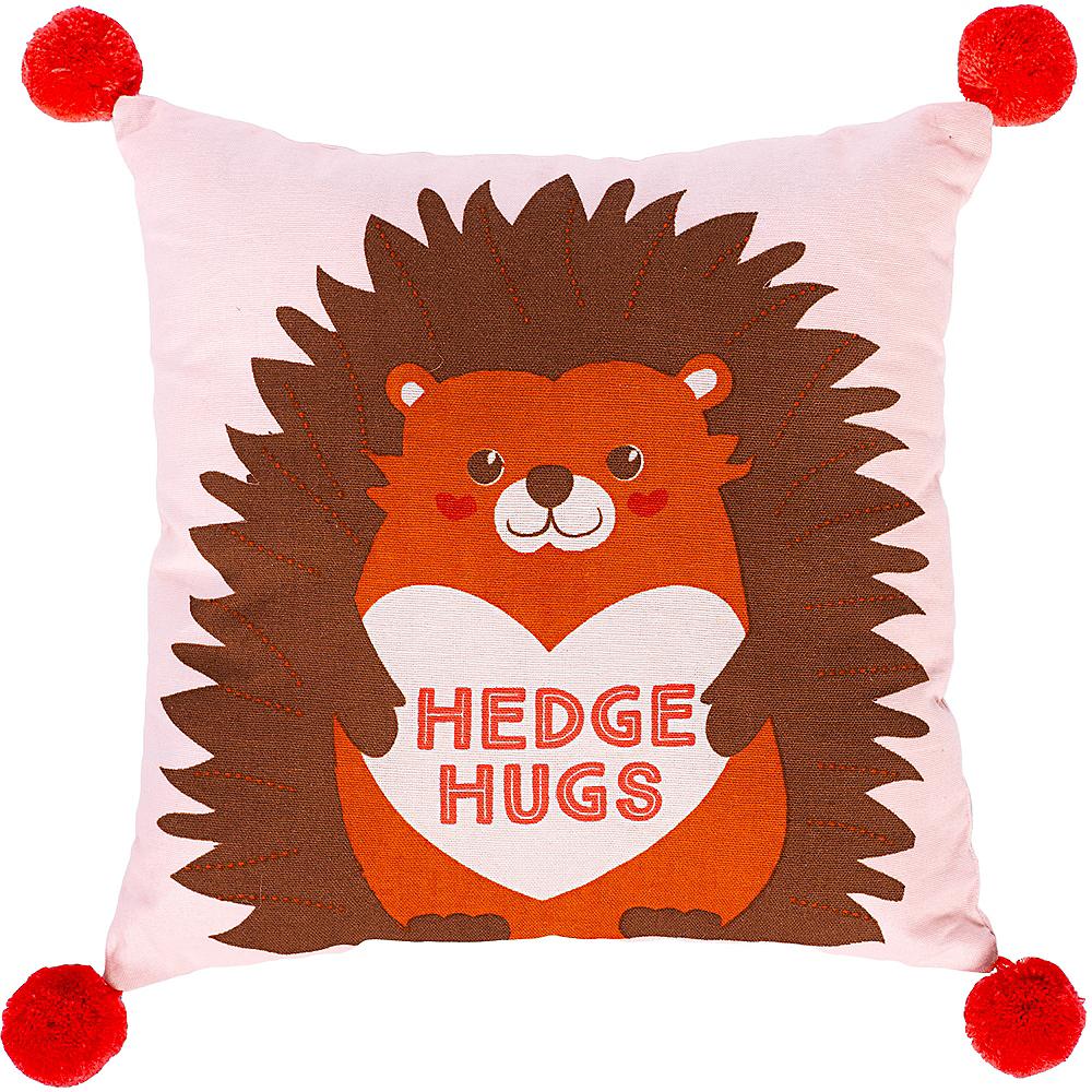 Hedge Hugs Pillow Image #1