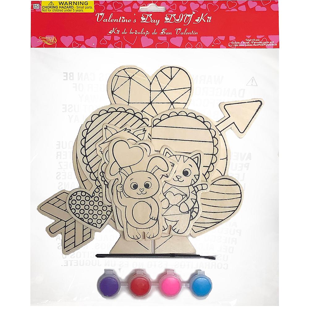 Valentine's Day DIY Centerpiece Kit 10pc Image #2