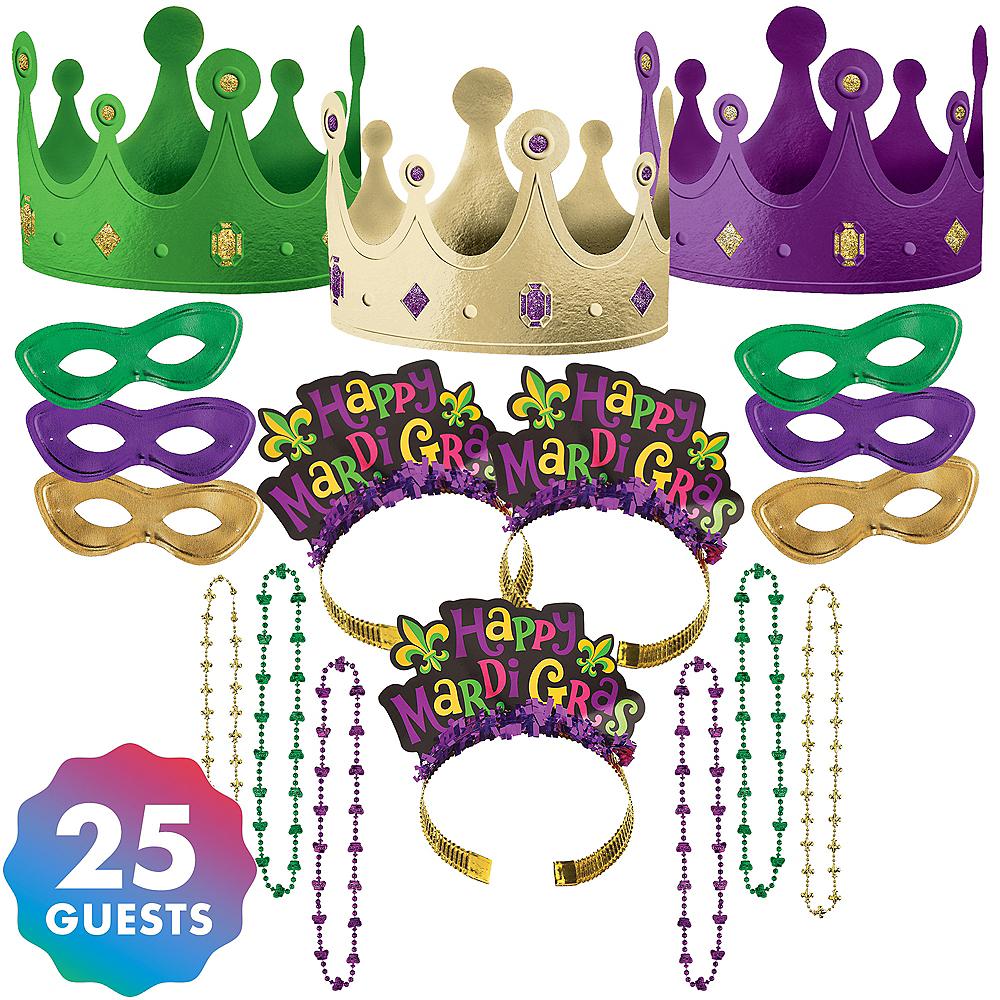 Mardi Gras Party Pack 55pc Image #1
