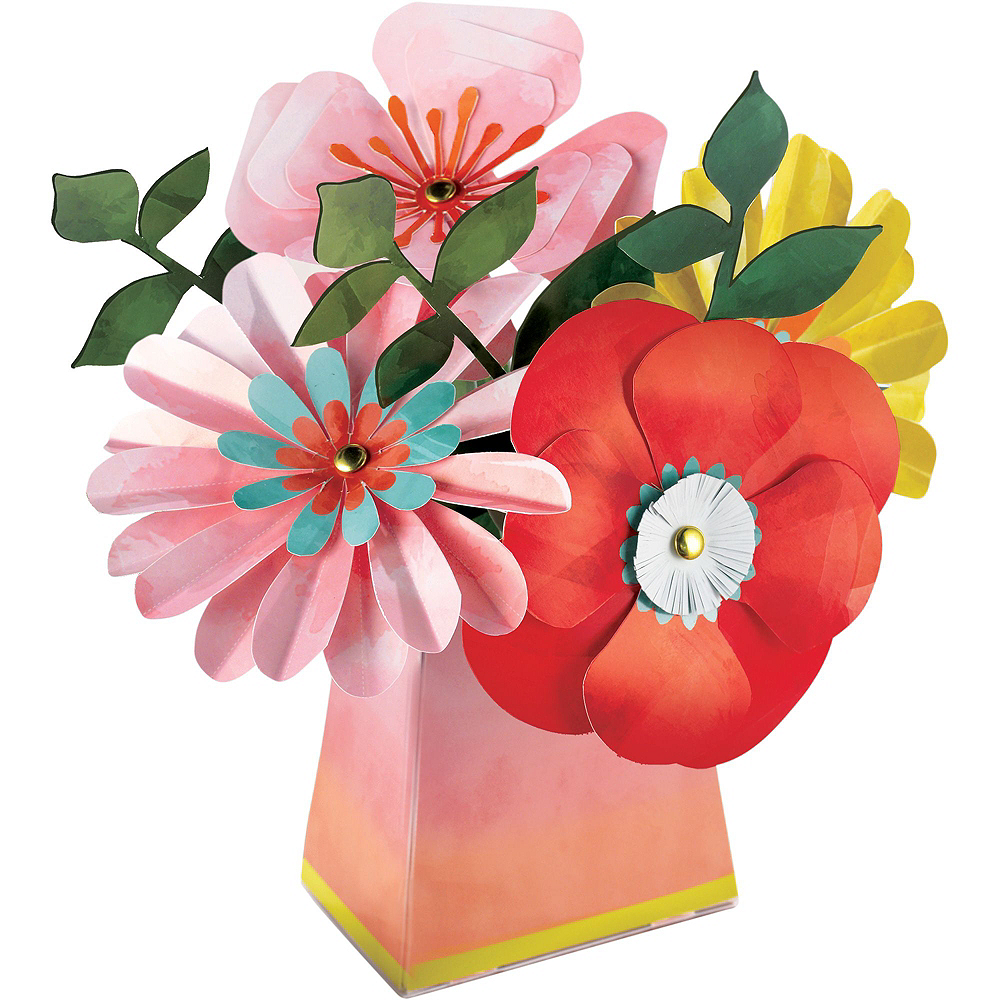 Super Bright Floral Tableware Kit for 16 Guests Image #9