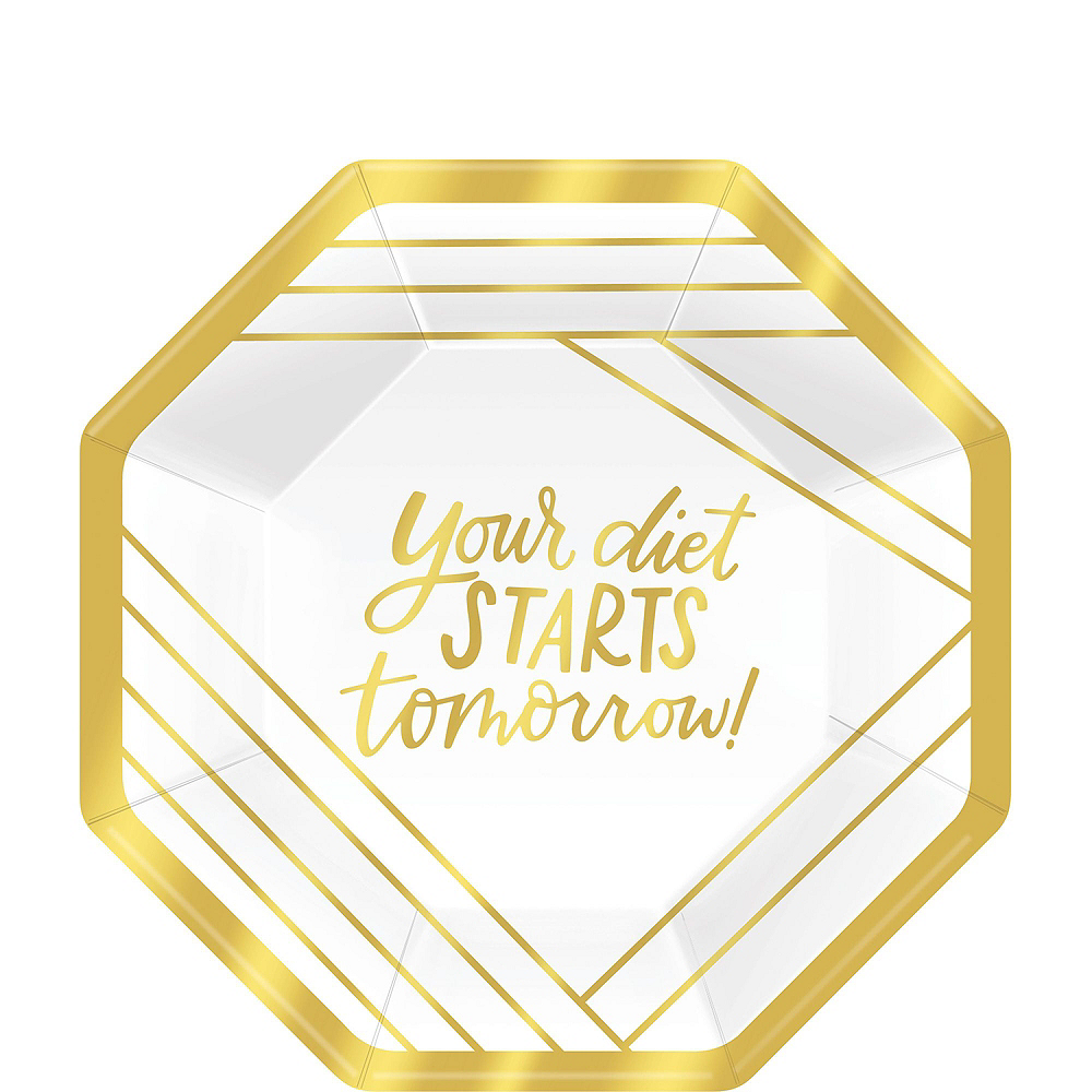 Metallic Gold Cocktail Party Kit for 16 Guests Image #2