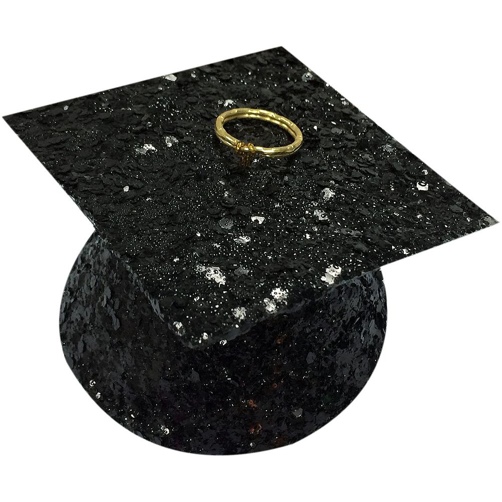 Black, Gold & Silver Graduation Balloon Kit Image #2