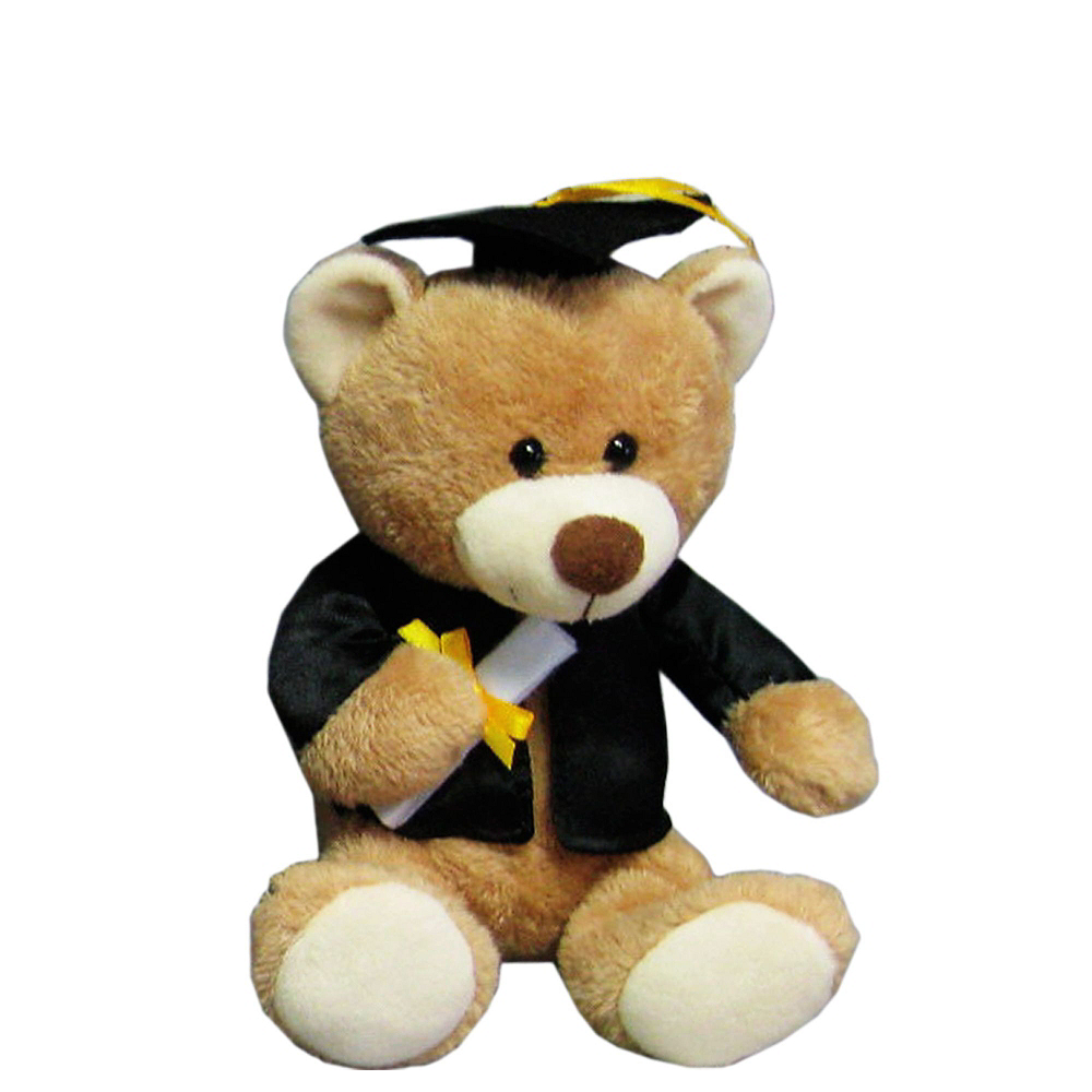 Nav Item for Black & White Graduation Plush & Balloon Kit Image #4