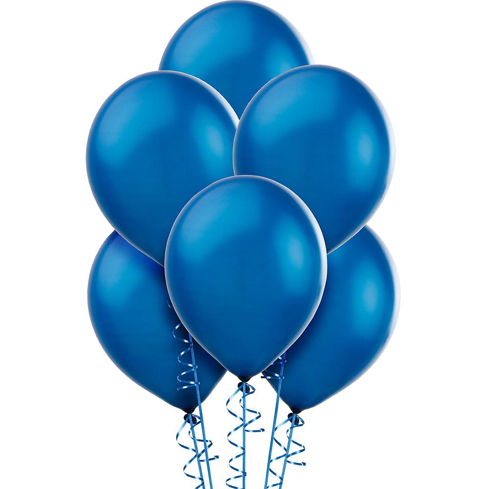 Blue Graduation Plush & Balloon Kit Image #5