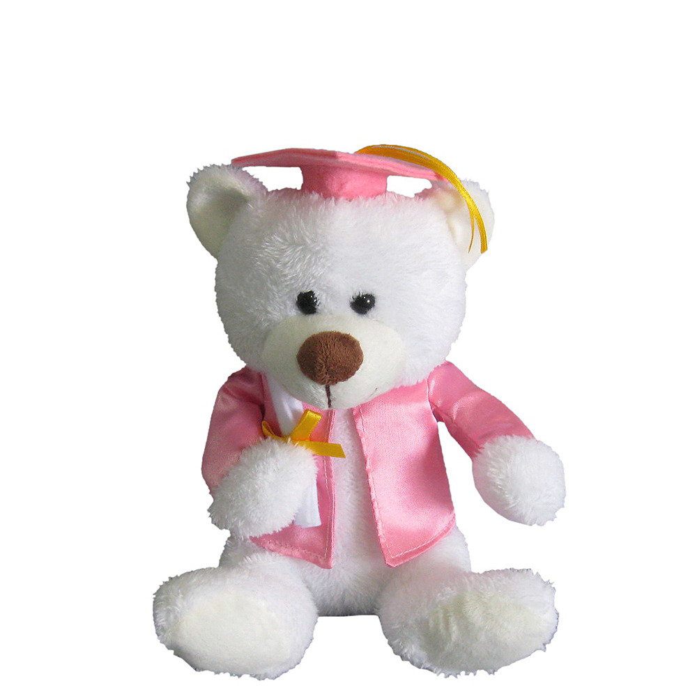 Pink Graduation Plush & Balloon Kit Image #4