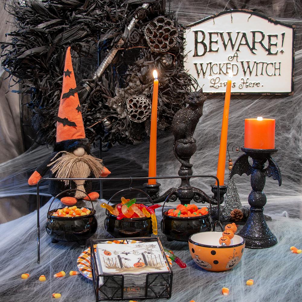 Halloween Cauldron Serving Set 7pc Image #1