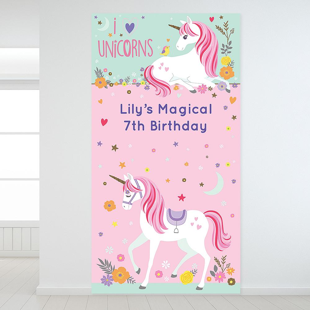 Custom Magical Unicorn Backdrop Image #1