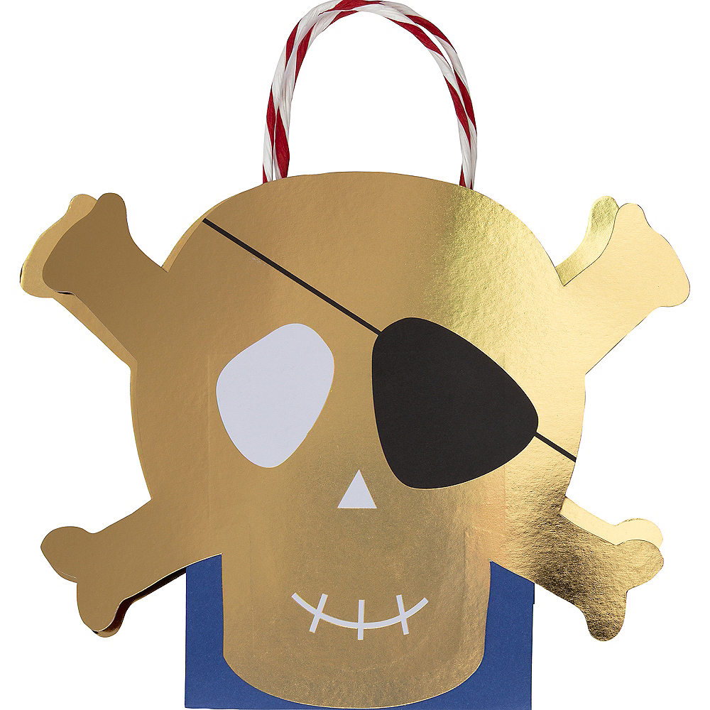 Pirate Gift Bags 8ct Image #1
