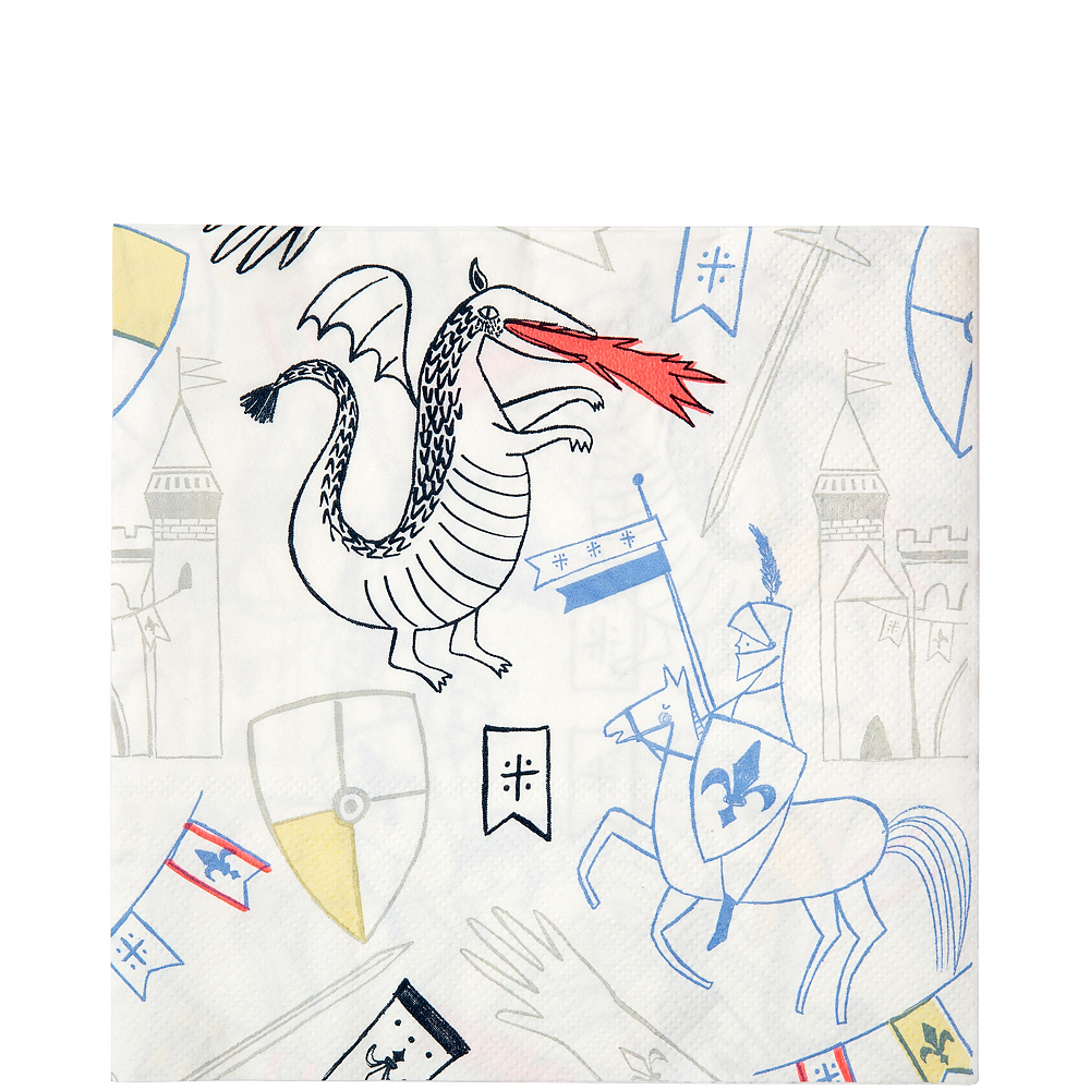 Dragon Knights Lunch Napkins 20ct Image #1