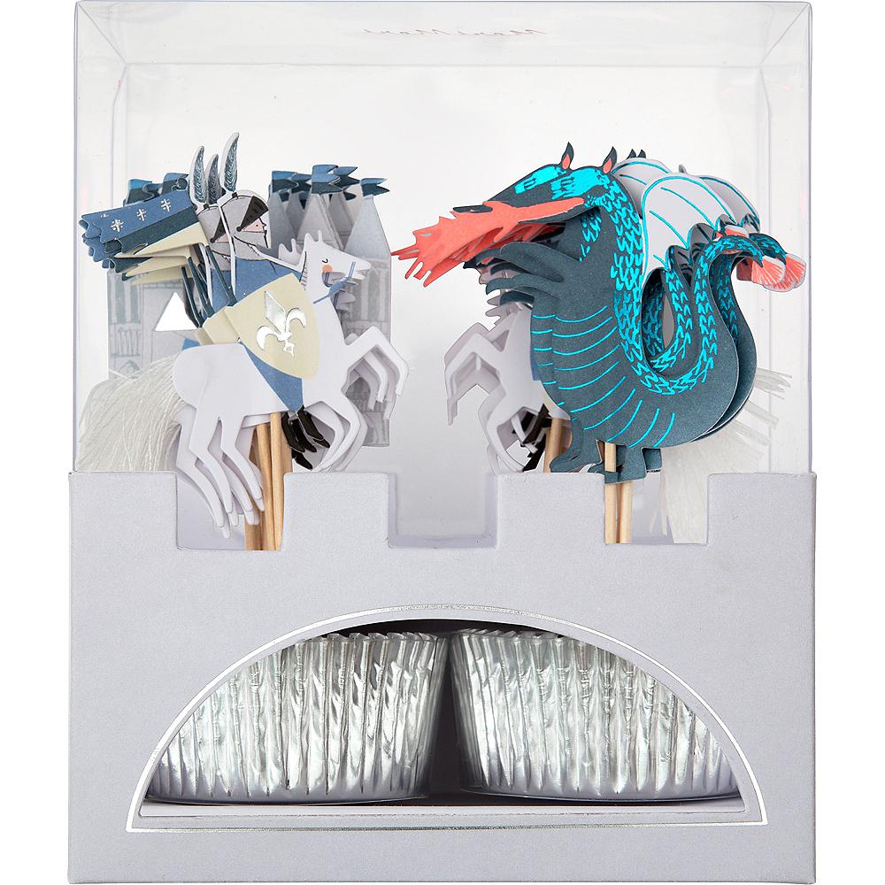 Dragon Knights Cupcake Decorating Kit for 24 Image #1