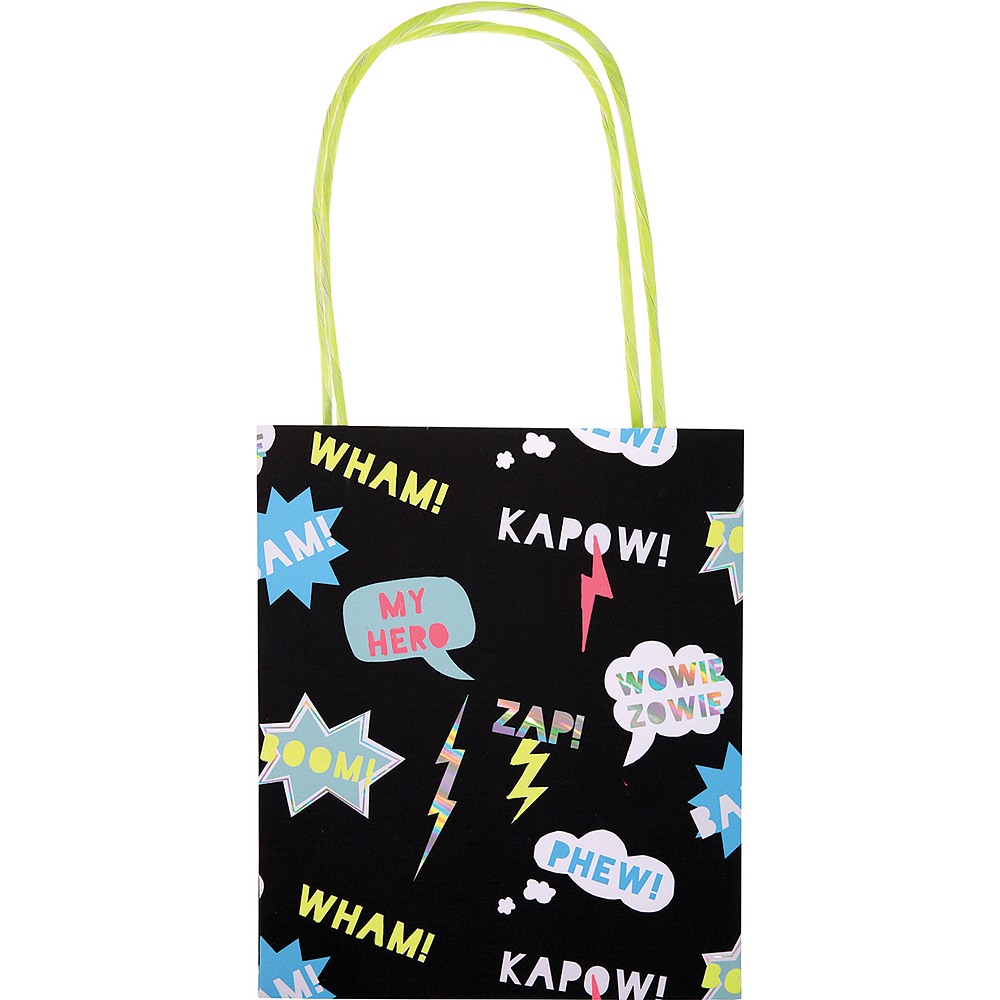 Nav Item for Zap! Superhero Gift Bags 8ct Image #1
