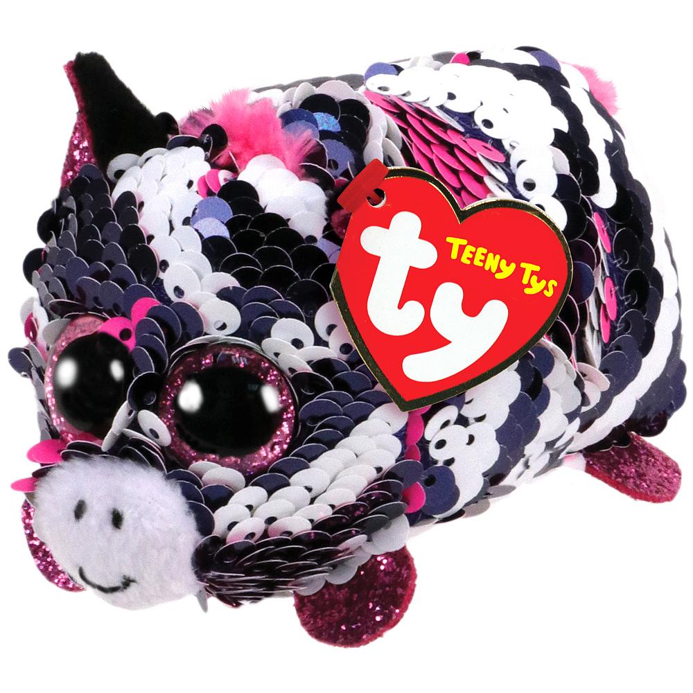 Zoey Teeny Tys Zebra Plush Image #1