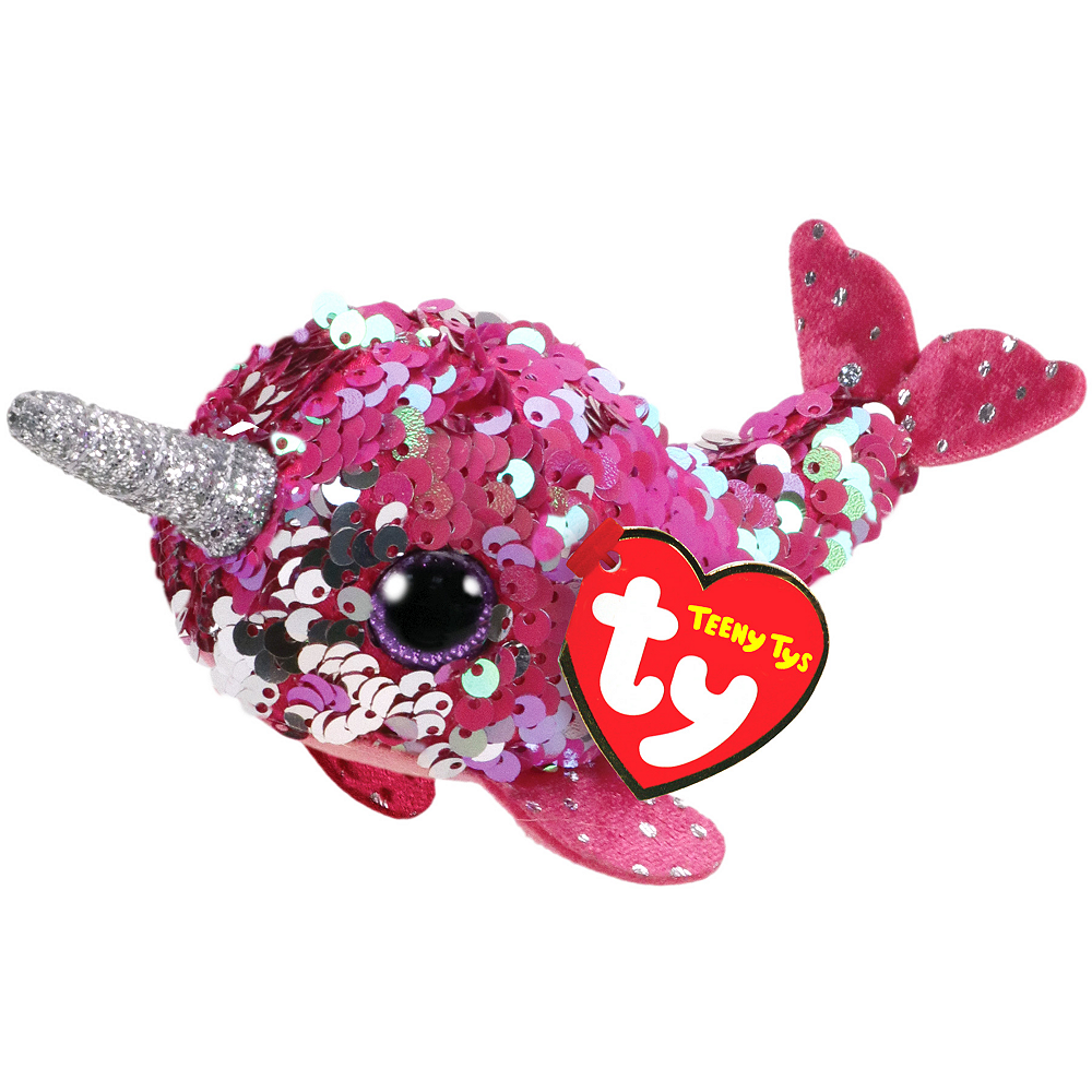 Nelly Teeny Tys Narwhal Plush Image #1