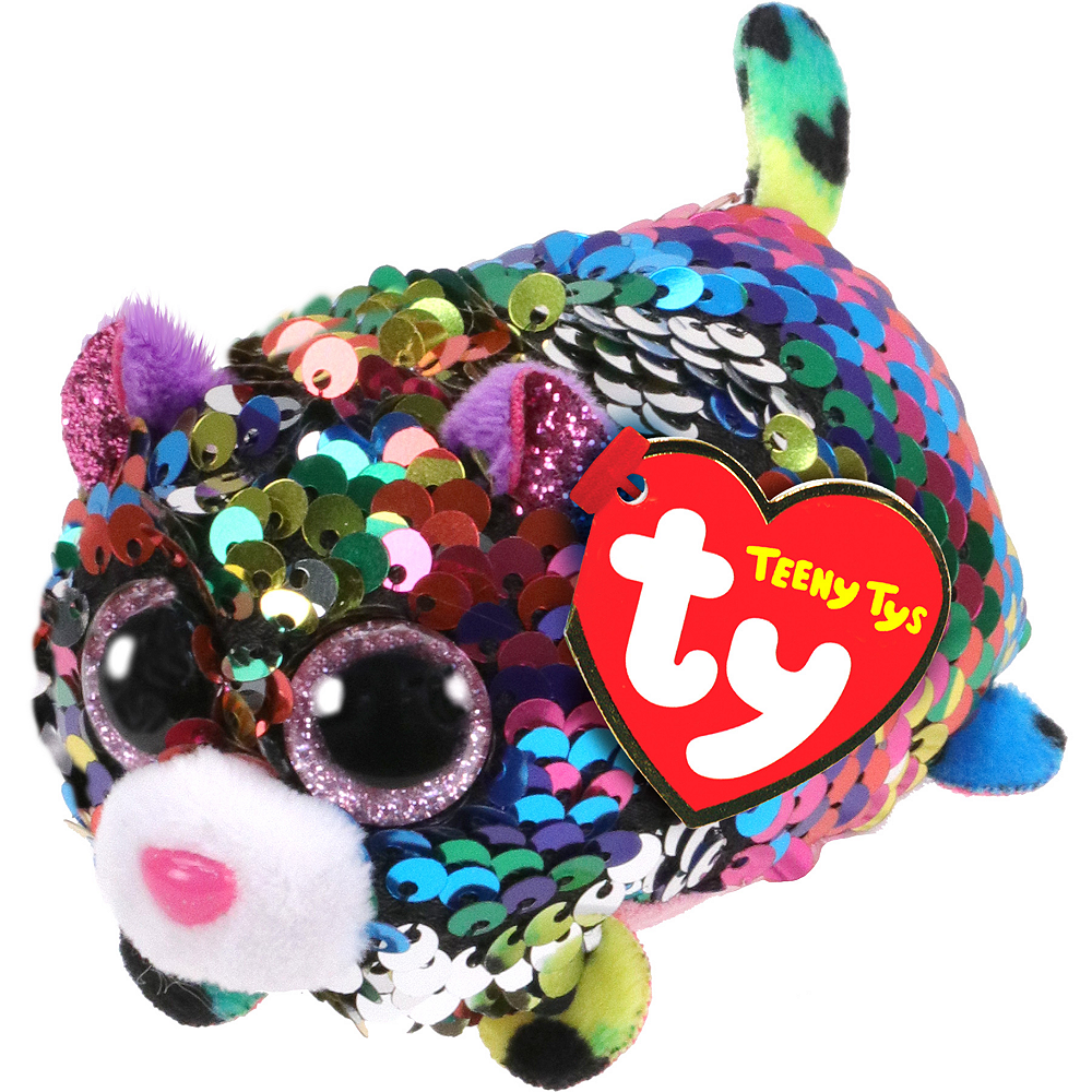 Dotty Teeny Tys Leopard Plush Image #1
