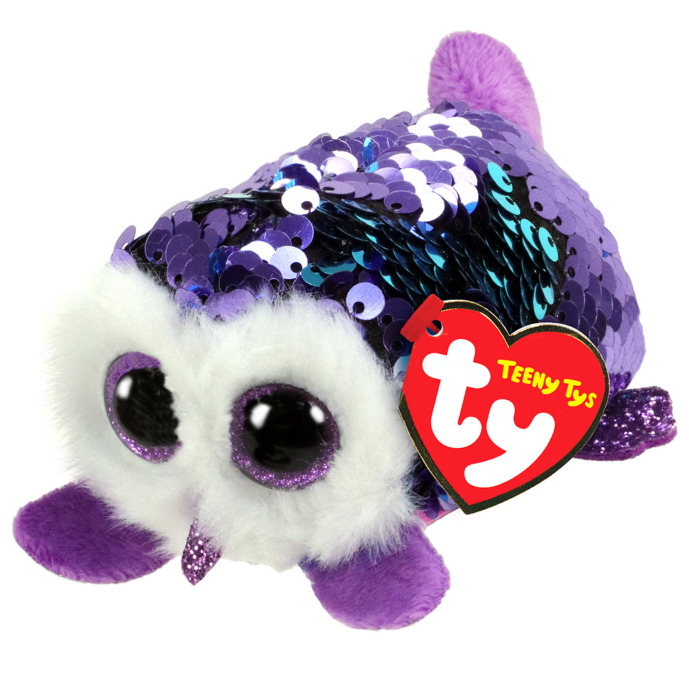 Moonlight Teeny Tys Owl Plush Image #1