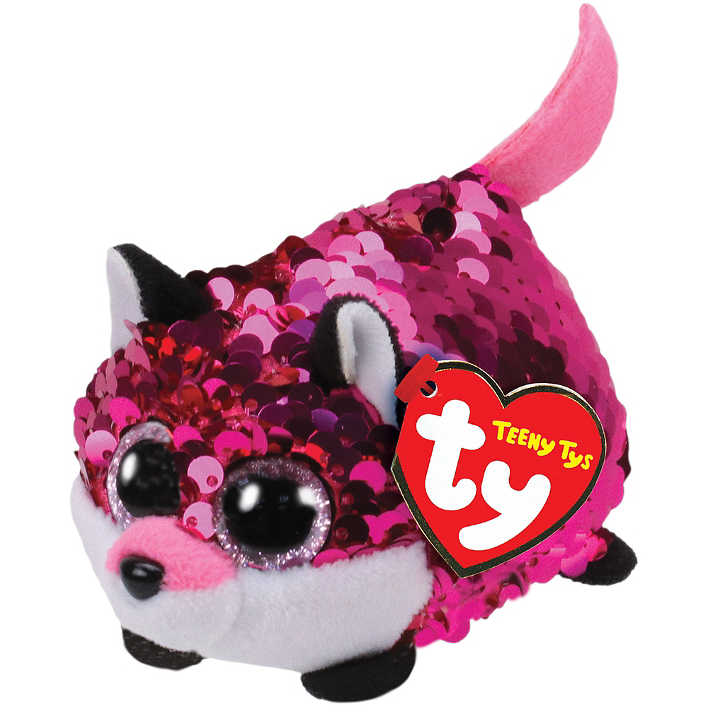 Nav Item for Jewel Teeny Tys Fox Plush Image #1