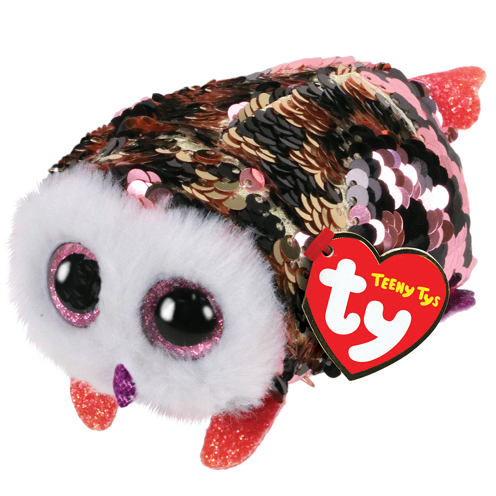 Check Teeny Tys Owl Plush Image #1