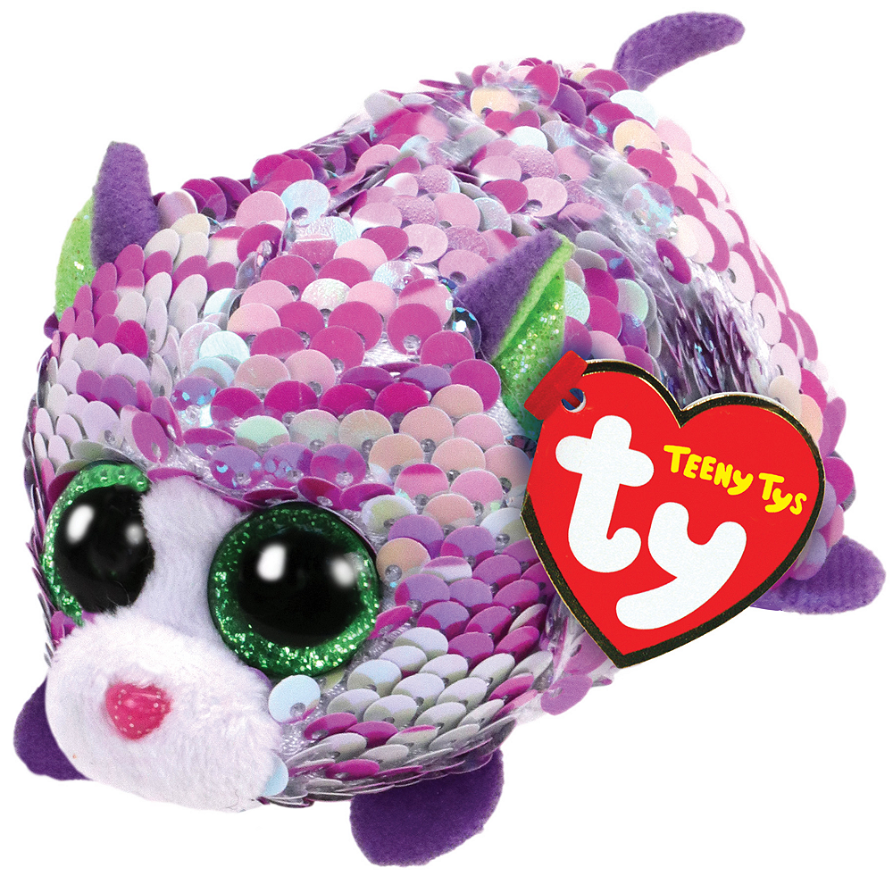 Nav Item for Lilac Teeny Tys Cat Plush Image #1