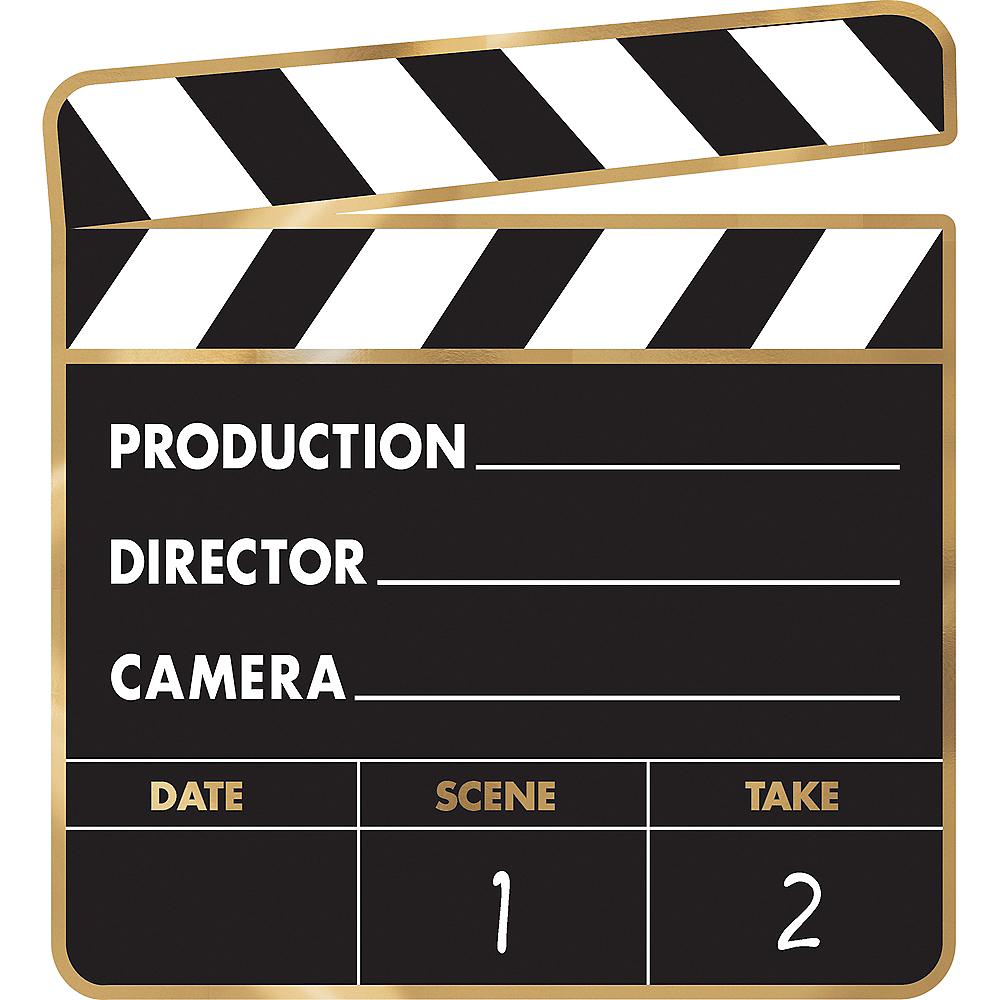 Movie Night Cardstock Cutouts 12pc Image #3