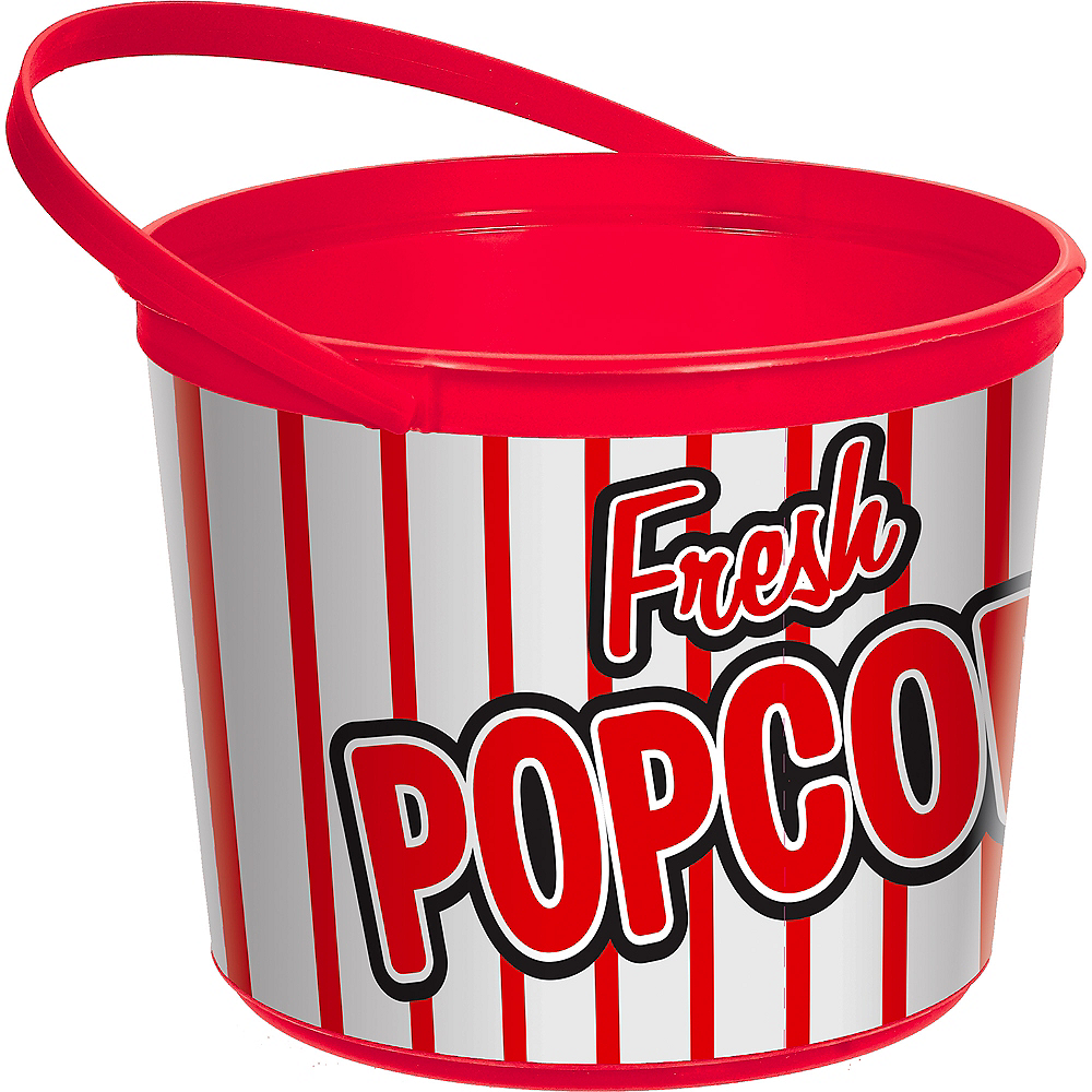 Nav Item for Movie Night Popcorn Bucket Image #1