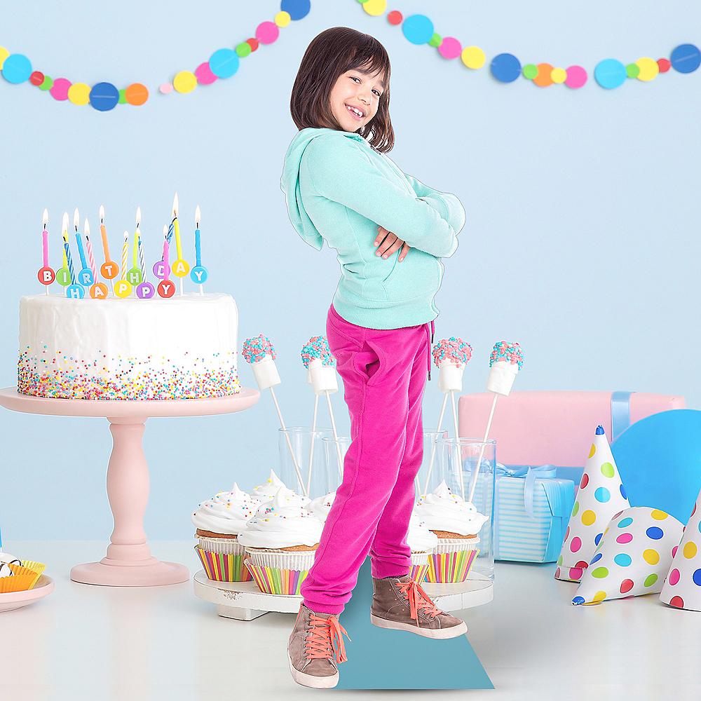 Custom Girls Birthday Centerpiece Standee Image #1