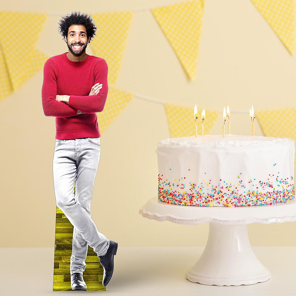 Custom Milestone Birthday Centerpiece Standee Image #1