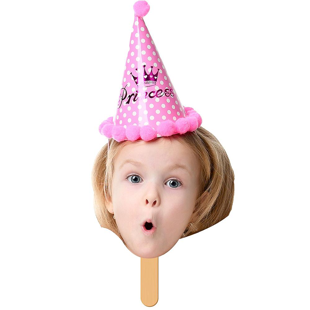 Custom Girls Birthday Fan Faces 6ct Image #1