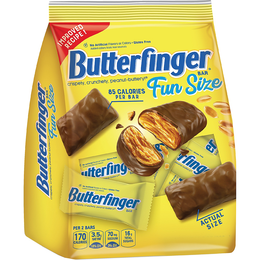 Milk Chocolate Butterfinger Fun Size Bars 16ct Image #1