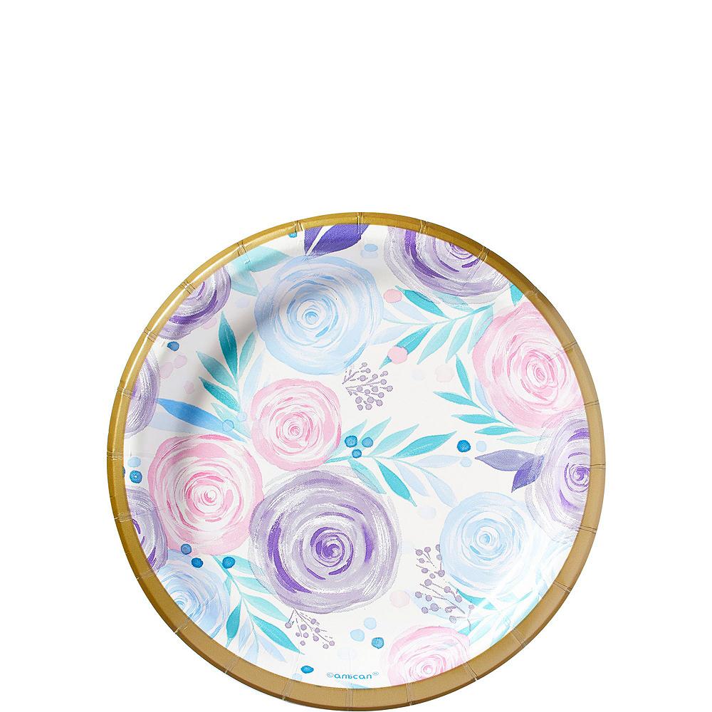 Pastel Floral Tableware Kit for 16 Guests Image #5