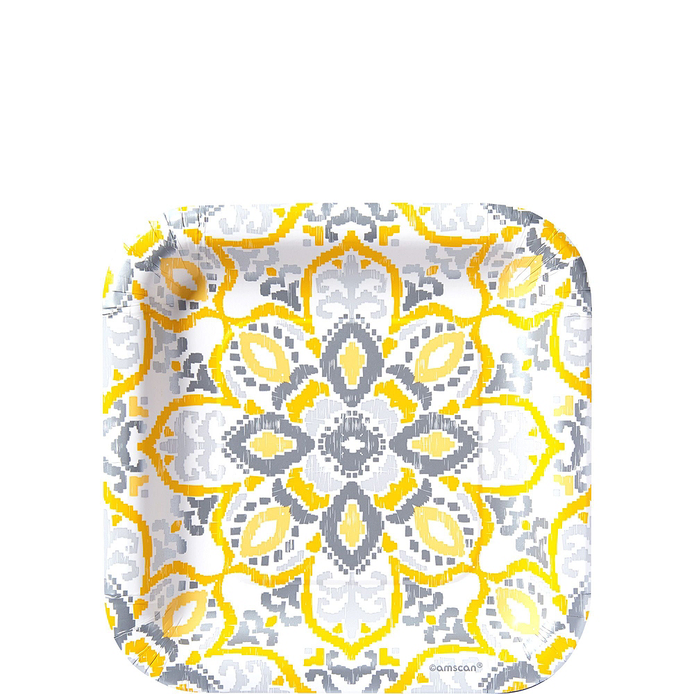 Yellow Tile Tableware Kit for 16 Guests Image #3