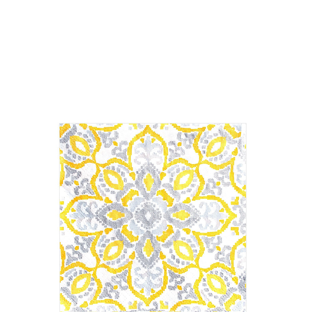 Yellow Tile Tableware Kit for 16 Guests Image #5
