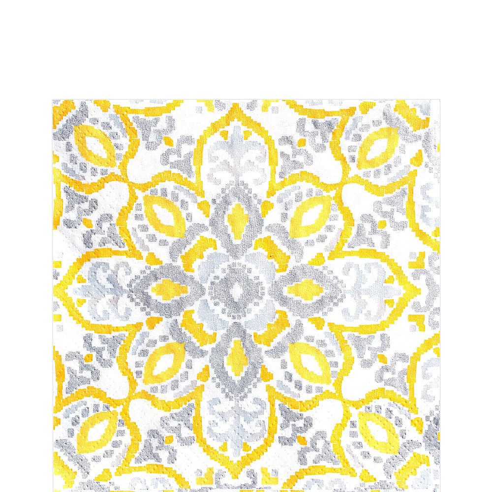 Yellow Tile Tableware Kit for 16 Guests Image #6
