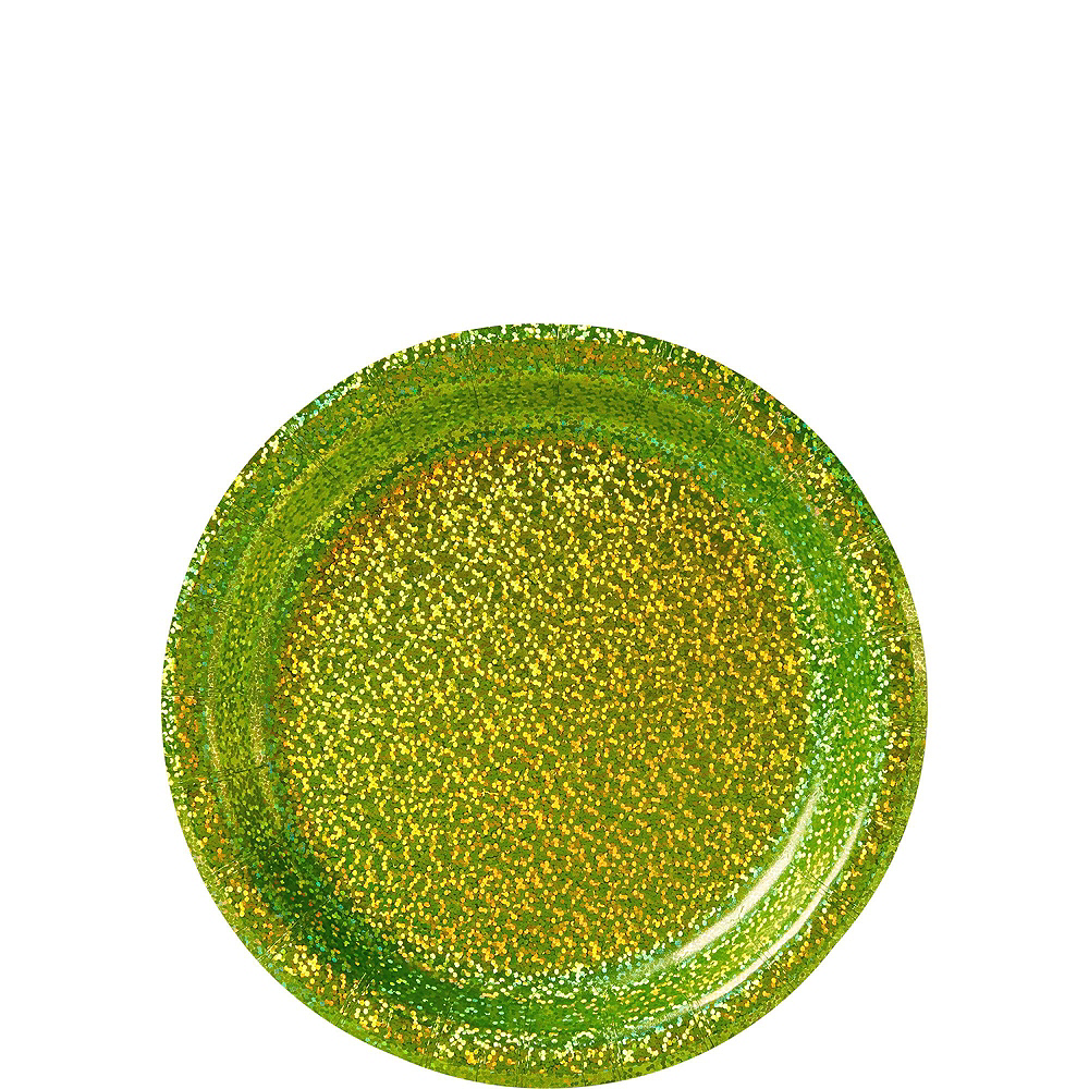 Prismatic Kiwi Green Tableware Kit for 16 Guests Image #2
