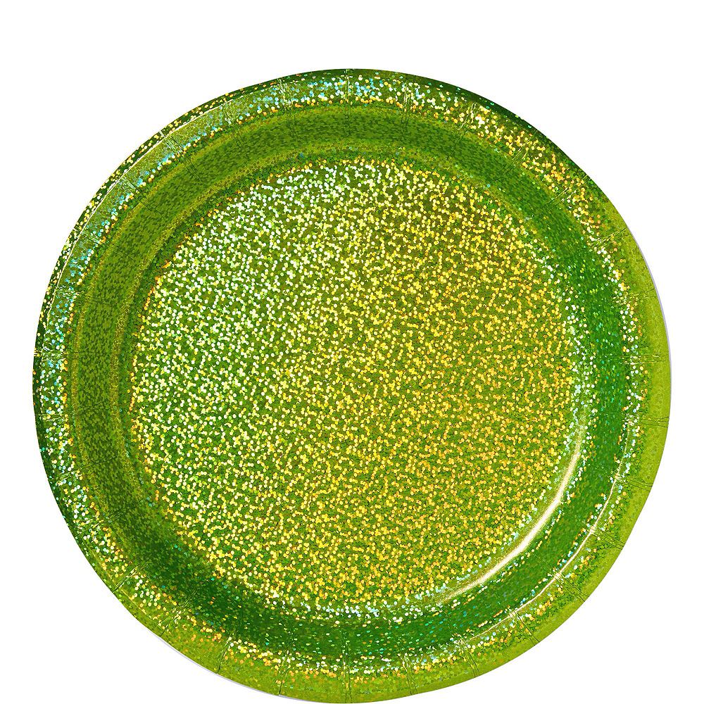 Prismatic Kiwi Green Tableware Kit for 16 Guests Image #3