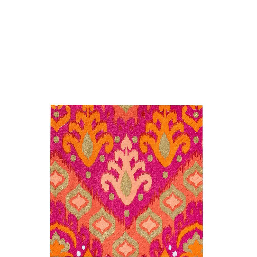 Orange Ikat Tableware Kit for 16 Guests Image #3