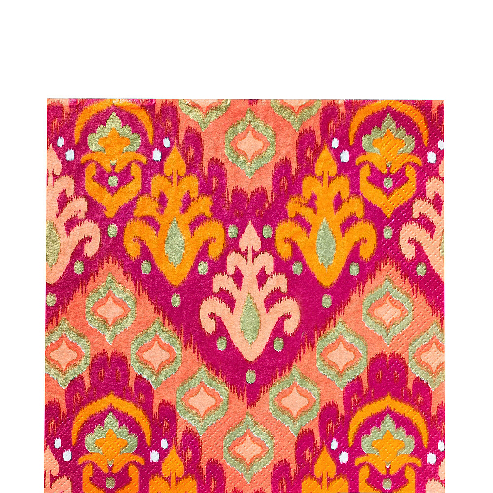 Orange Ikat Tableware Kit for 16 Guests Image #4