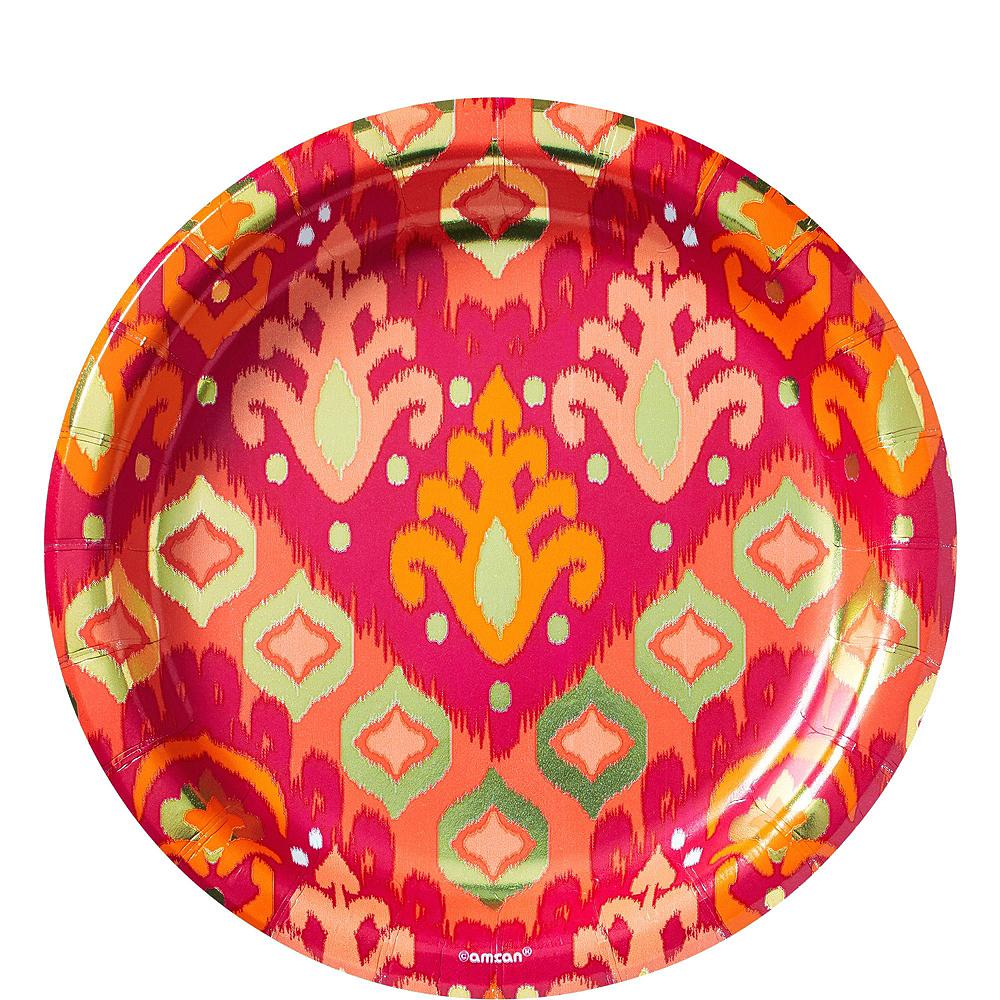 Orange Ikat Tableware Kit for 16 Guests Image #6