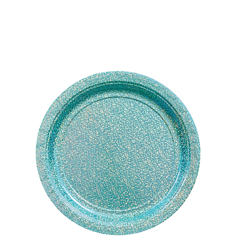 Prismatic Robin's Egg Blue Tableware Kit for 16 Guests Image #2