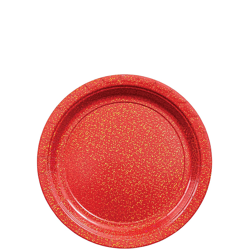 Prismatic Red Tableware Kit for 16 Guests Image #2