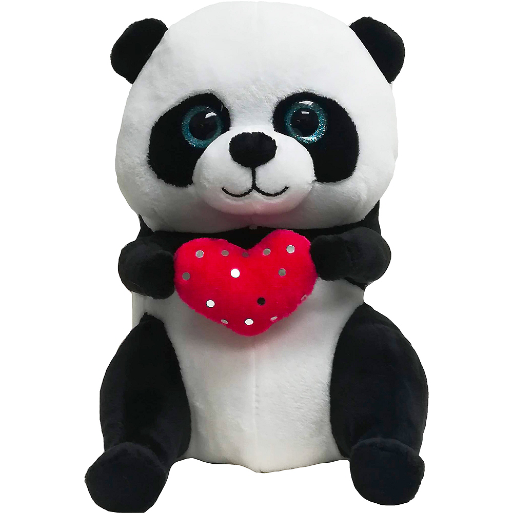 Valentine's Day Panda Bear Plush Image #1