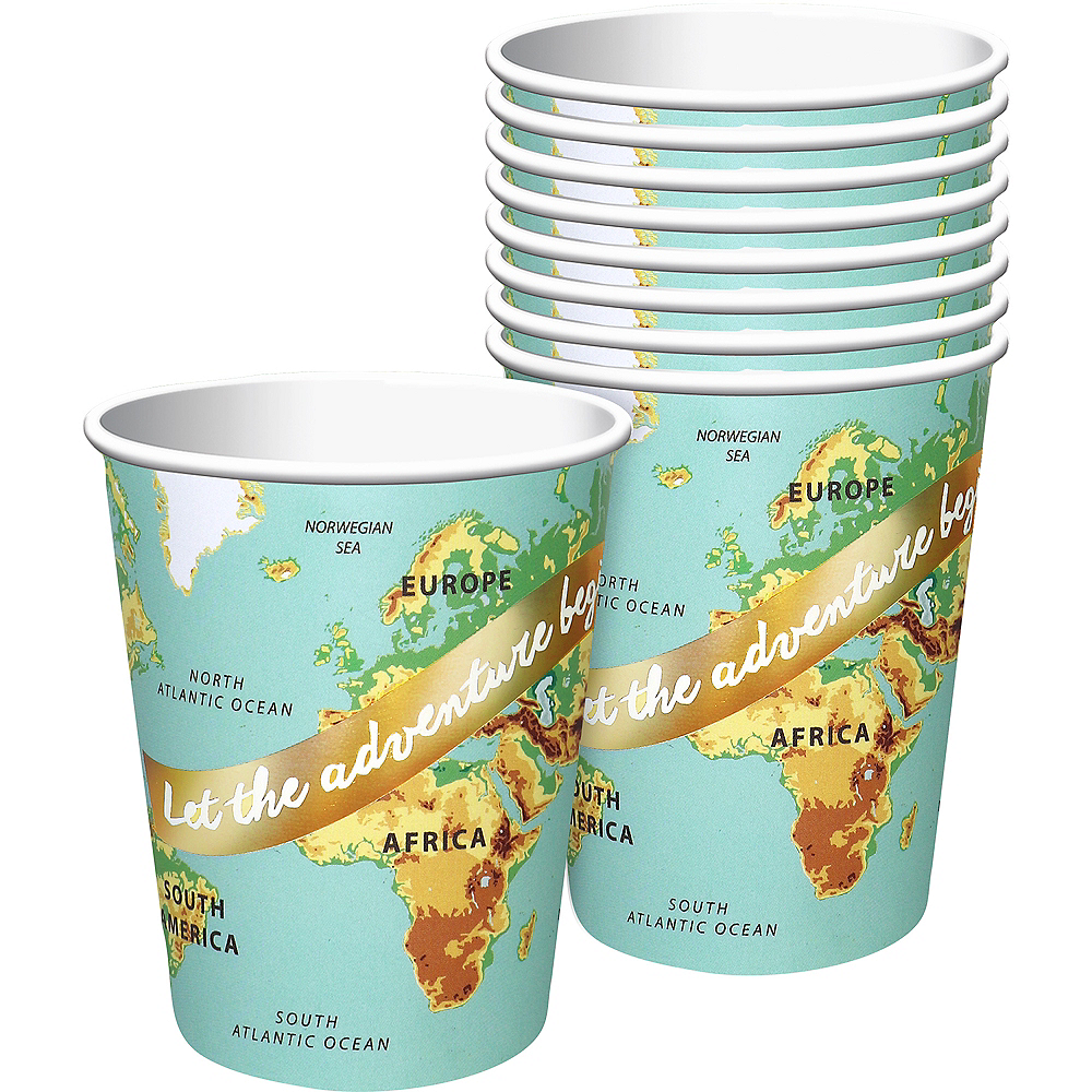 Bon Voyage Cups 8ct Image #1