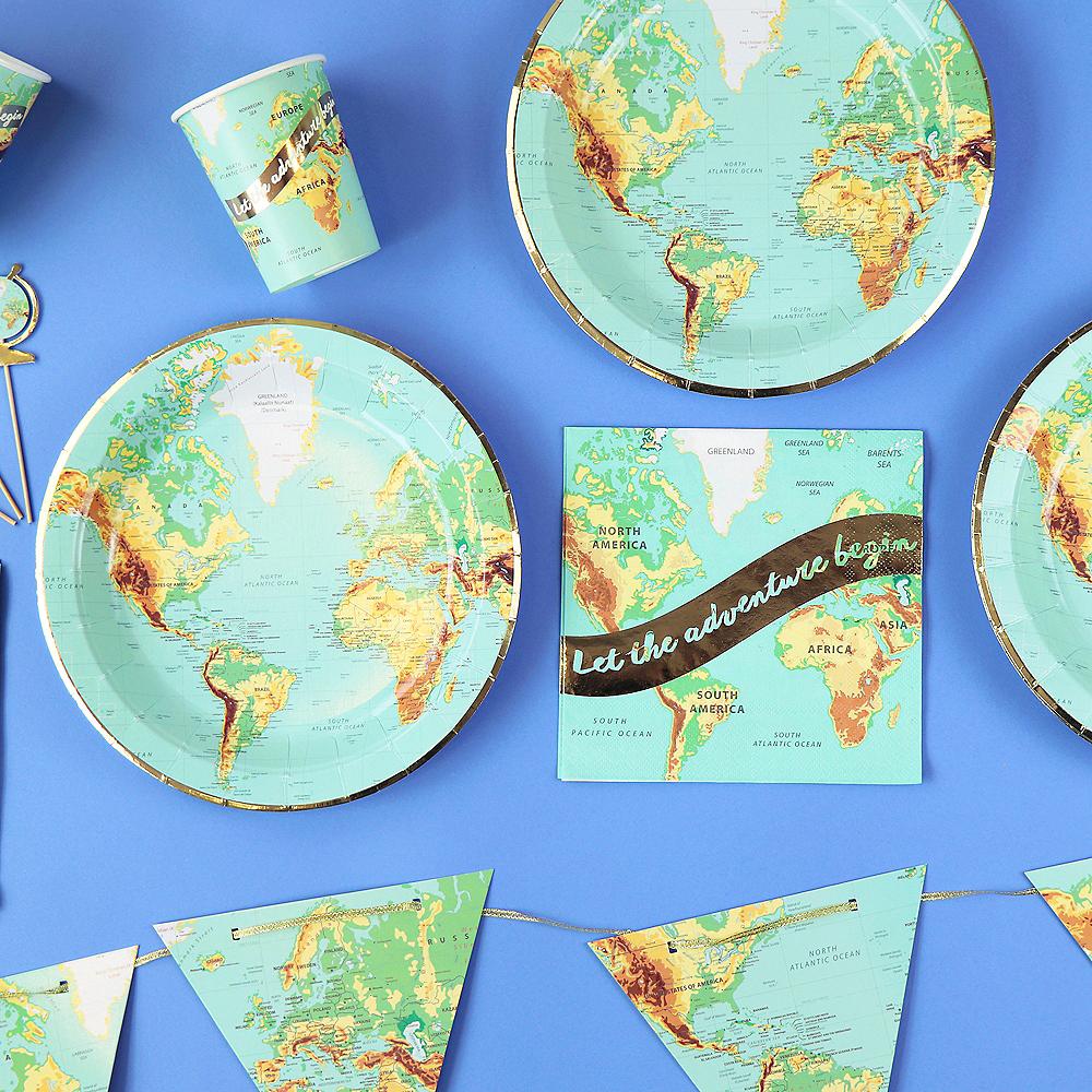 Bon Voyage Lunch Plates 8ct Image #2