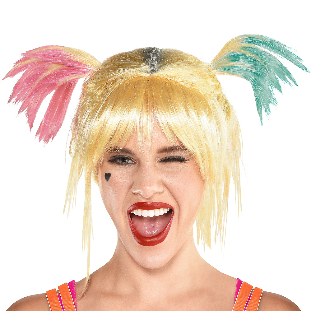 Adult Harley Quinn Wig - Birds of Prey Image #1