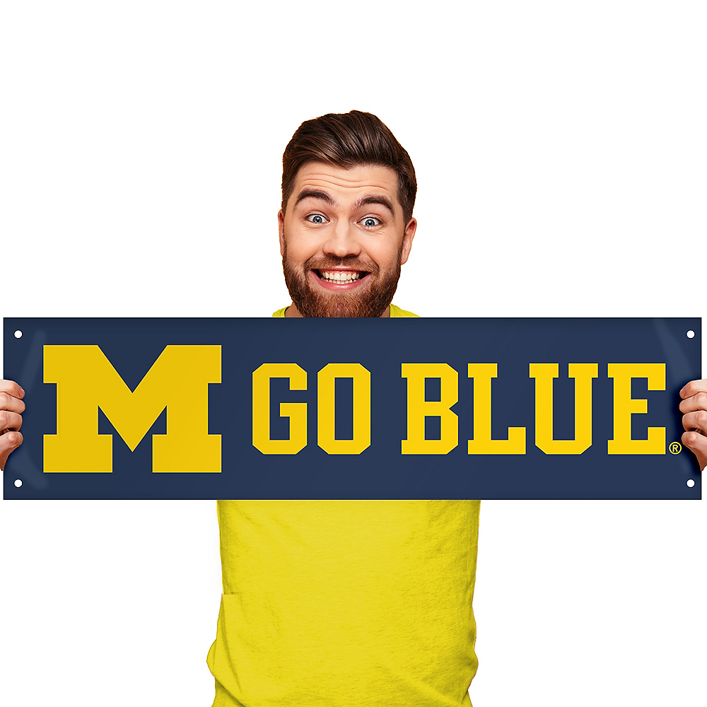 Small Michigan Wolverines Banner Image #1