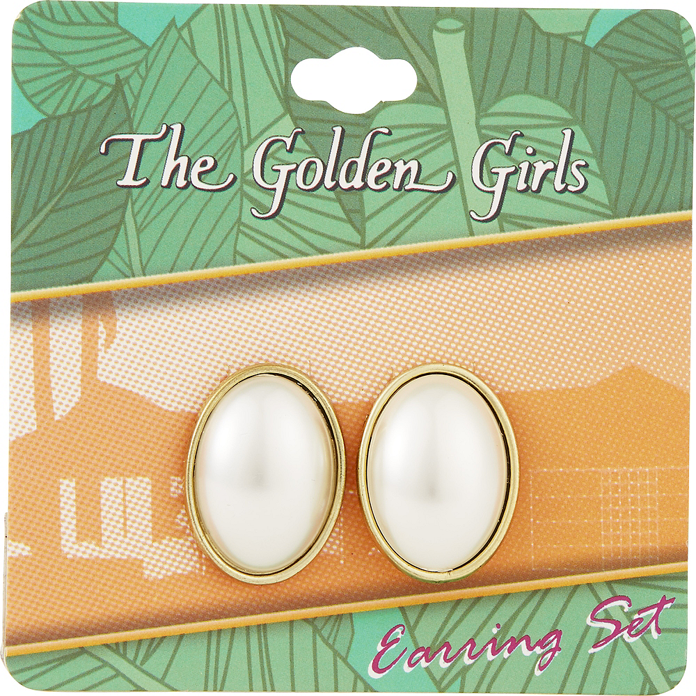 Dorothy Zbornak Earrings - Golden Girls Image #2