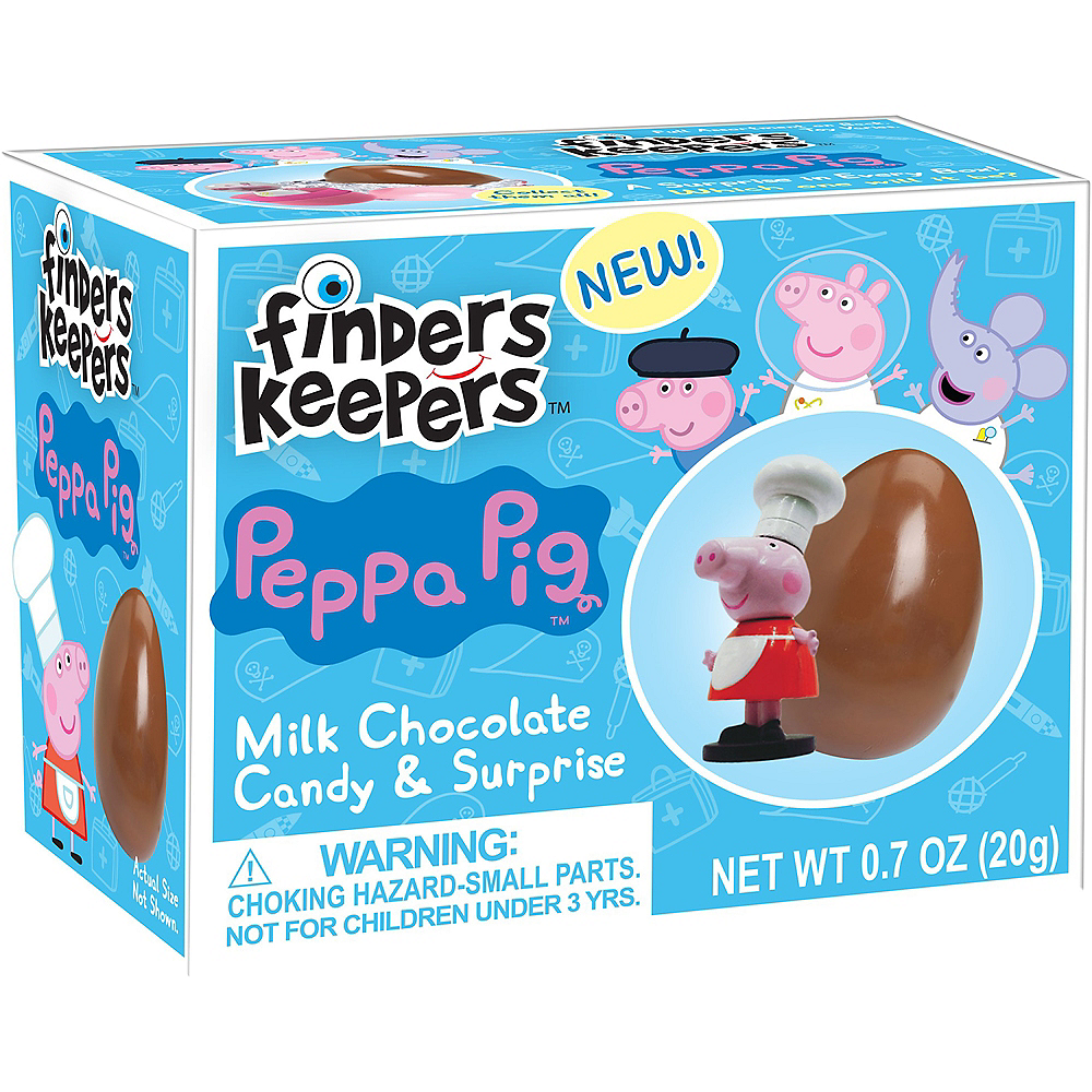 Finders Keepers Peppa Pig Milk Chocolate Candy & Surprise Toy Image #1