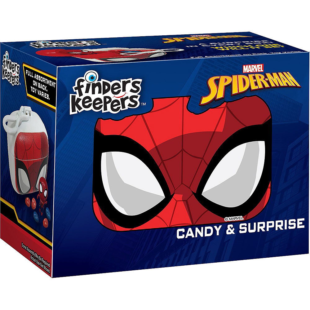 Finders Keepers Spider-Man Candy & Surprise Toy Image #1