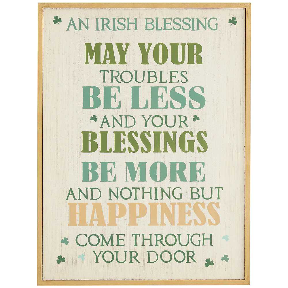 An Irish Blessing Sign Image #1