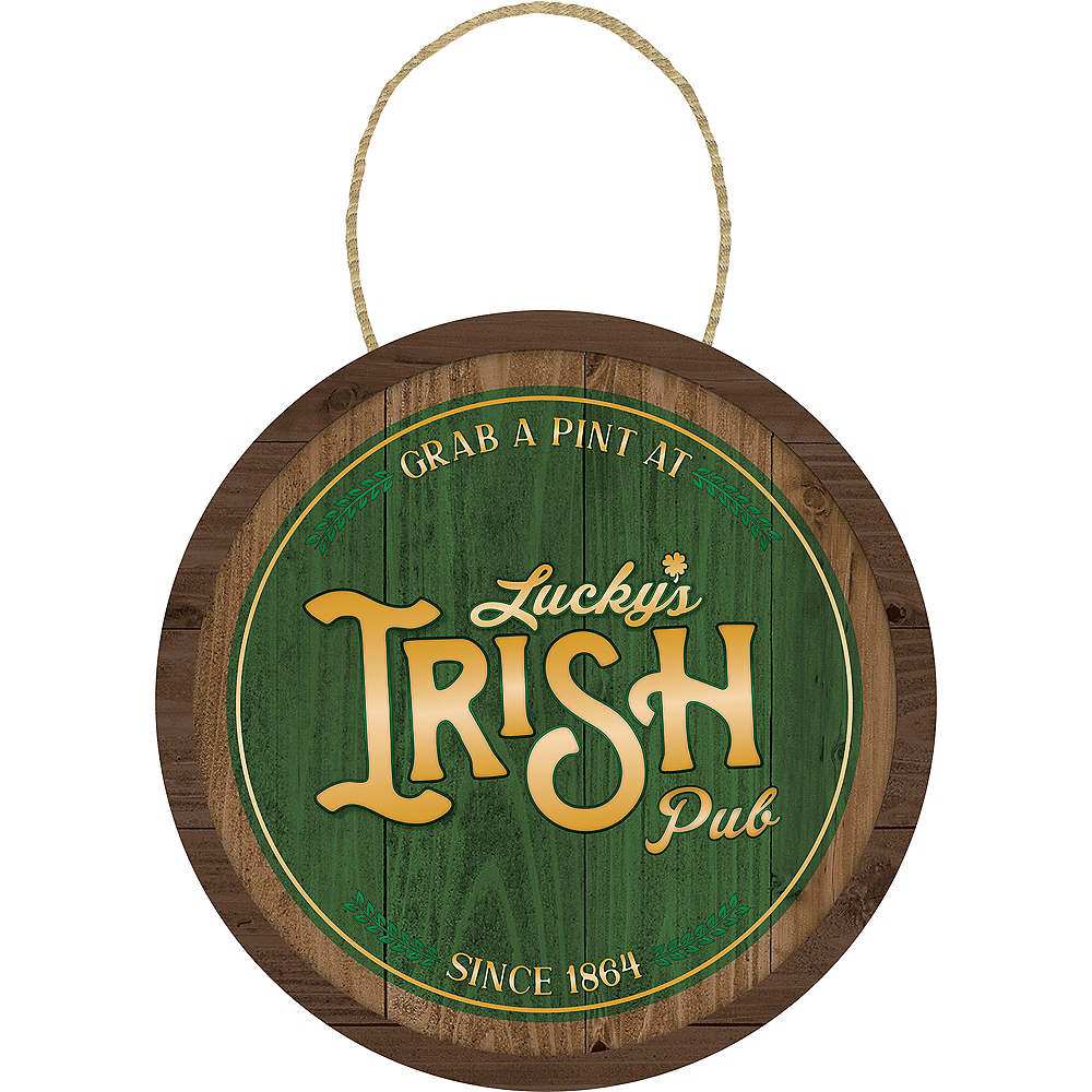 Grab A Pint St. Patrick's Day Sign Image #1